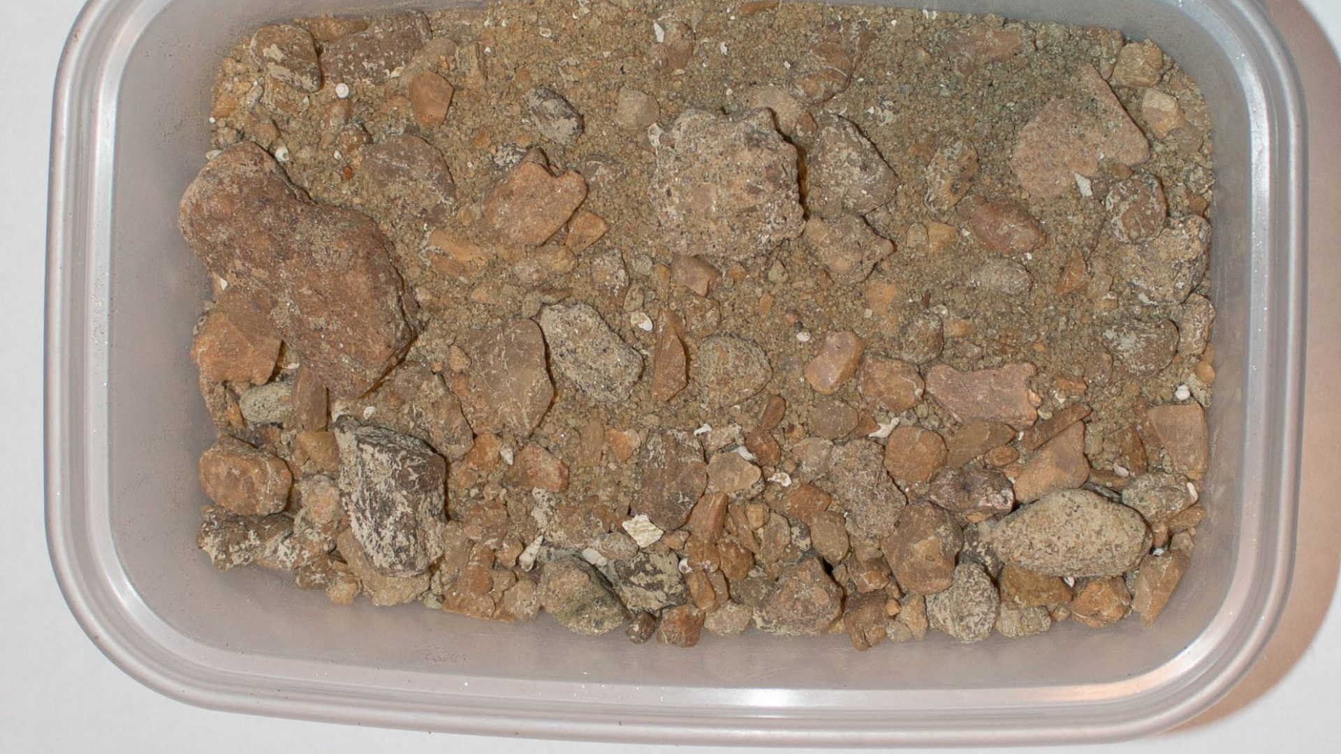 Písek z oblasti Mara Rock
