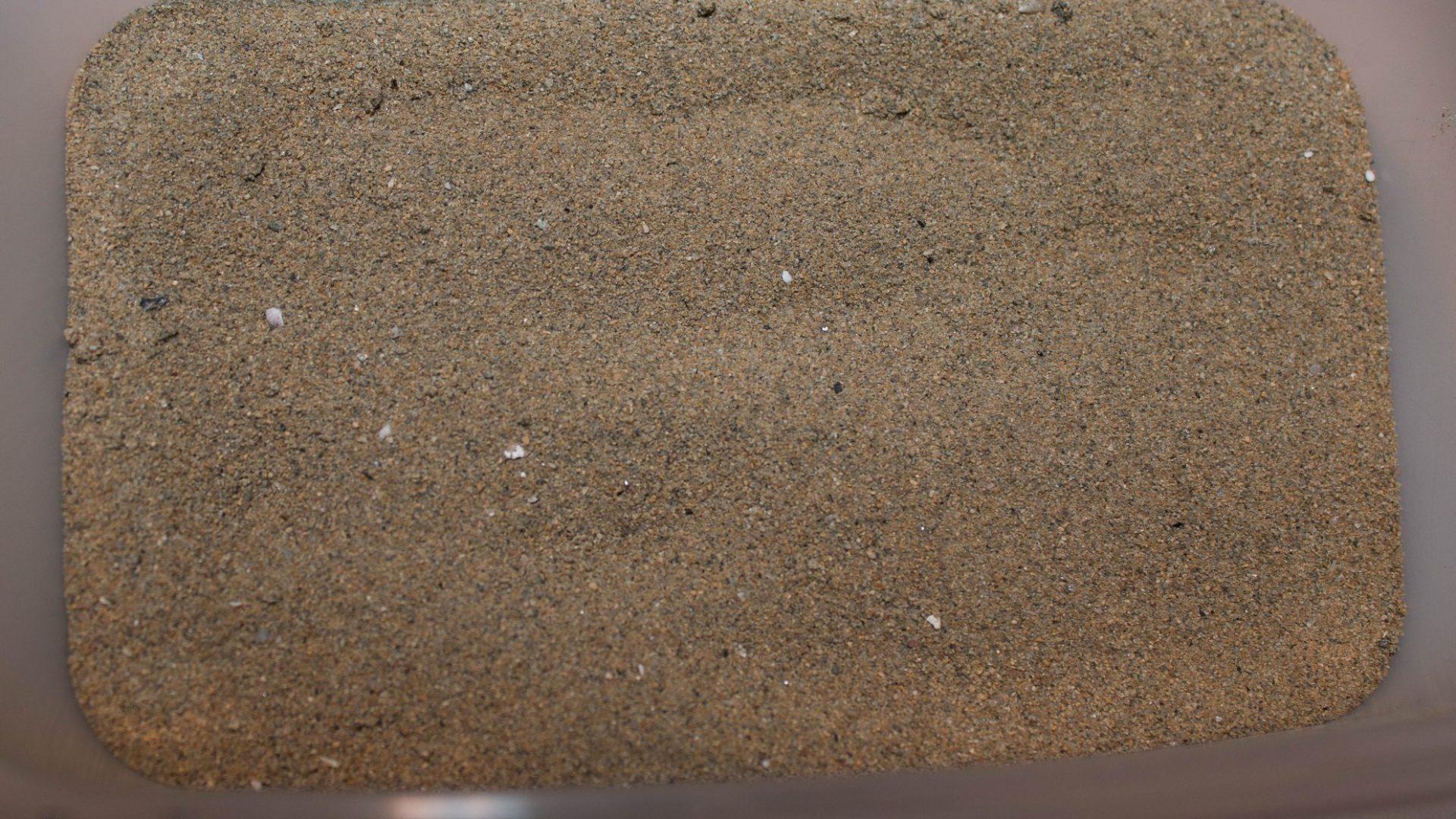 Písek z oblasti Chilongo