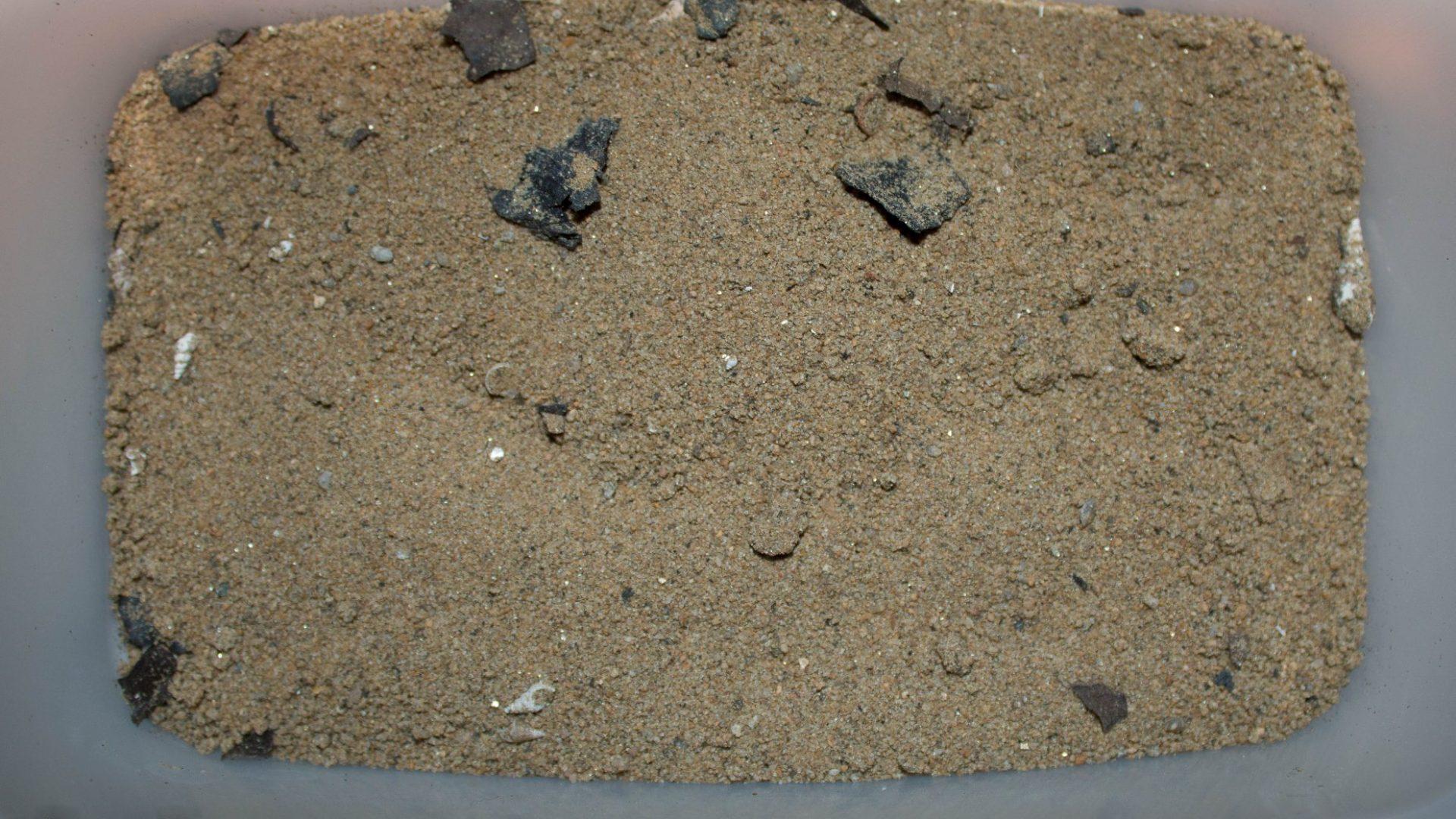 Písek z oblasti Kawanga